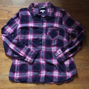 Merona plaid flannel shirt